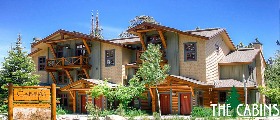 The cabins at crooked pines rental property in mammoth for Mammoth mountain cabins pet friendly